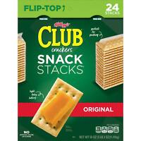 Keebler Club Crackers Snack Stacks (2.08 oz., 24 pk.) FREE N FAST SHIPPING
