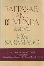 """JOSE SARAMAGO """"Baltasar and Blimunda"""" SIGNED Advance Reading Copy QUITE RARE"""