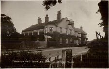 Donlion Ye Olde Bell Hotel Banrnby Moor c1920s Real Photo Postcard