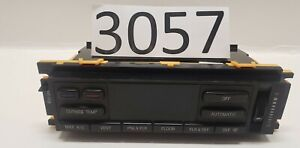 1993 LINCOLN MARK VIII F5PF-18C612-BBSR  A/C Heater Climate Control Panel