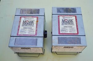 Humane Wind Up Multiple Catch Mouse Master Trap Whitmire Micro-Gen