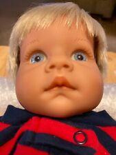 "1999 Original Lee Middleton by Reva 17"" Blond Hair /Blue Eyes Baby Boy Doll"