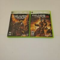 2 Xbox 360 games Gears of War 1 and 2