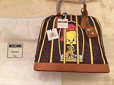 Moschino Couture Looney Tunes X Jeremy Scott Caged Tweety Pie Handbag MSRP $1095