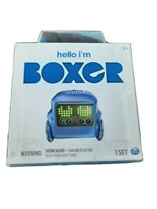 Sealed New Boxer Interactive A.I. Robot Toy With Personality Emotions Purple
