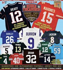2020 Tristar HT Autographed Football Jerseys Case Break (5) Seattle Seahawks