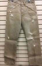 RRL Double RRL Straight Leg Fit 30x32 Selvedge Denim Brown Clay Wash NEW