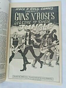 1989 Rock 'N' Roll Comics Guns N Roses Vol.1 #1 1st Print Revolutionary Comics