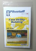 YARD UTILITY BUILDING HO 1:87 SCALE LAYOUT DIORAMA PIKESTUFF RIX 5