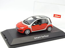 Schuco 1/43 - Smart Forfour Rouge