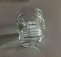 Skull Shot Glasses Set of 4 Shotglass Glass New