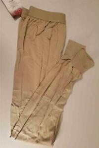Duke Athletic Mens Long Underwear Large Sand Cotton/Poly Blend