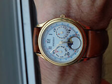 Radiant Vintage Collection 2560 70 Moon-Phase Watch Rare Montre Collector Swiss