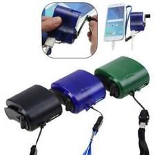 Generador Cargador USB de mano manivela manual de ayuda de teléfono móvil de emergencia SOS de Dinamo