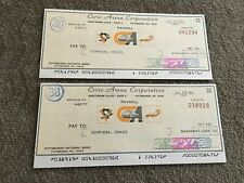 Pittsburgh Penguins signed Pay Roll checks 1986- 32 different players-
