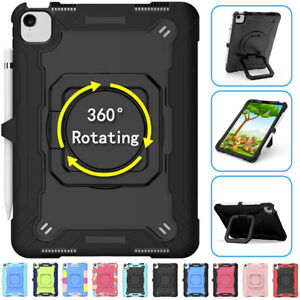Kids Shockproof Heavy Duty Hard Stand Case For iPad 10.2 7/8th Gen Air 4th 3 Pro