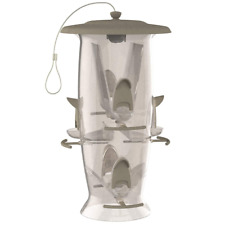 Hanging Wild Bird Seed Feeder 6lb Storage Out Door Yard Squirrel Proof Large New