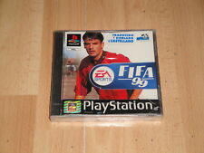 FIFA 1999 DE EA SPORTS PARA LA SONY PLAY STATION 1 PS1 NUEVO PRECINTADO