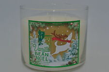 BATH & BODY WORKS Vanilla Bean Noel  SCENTED CANDLE 14.5 oz 3 wick