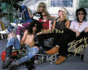 GUNS N' ROSES BAND Autographed Signed 8x10 Photo Reprint
