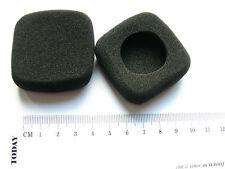 Coussinet recharge mousse oreillette pour casque p.e. Bang & Olufsen carré