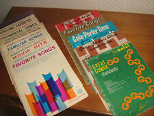 LOT 12 ORGAN Music Books for Electronic Organs Moderate skill Great Variety B