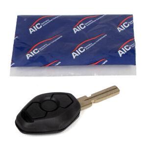 AIC 57539 Schlüsselgehäuse + Schlüsselrohling 3-Tasten für BMW 5er E39 7er E38