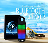 Craig beats Urban Beatz TUNDRA IPX4 WATER Resistant  bluetooth Speaker 10W watt