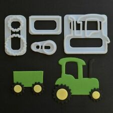 FMM Tractor Cutter Set (4 Pieces) 1st Class 1 Day DISPATCH Cake Decorating