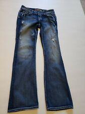 BKE Culture Stretch jeans size 27 x 31.5 Bootcut, Distressed.