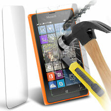 100% Tough Tempered Glass Film Screen Protector for Microsoft Lumia 435