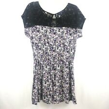 AE American Eagle Floral Lace  L Women's Dress