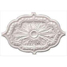 American Pro Decor 5APD10241 36 x 26 in. Leaf Oval Ceiling Medallion