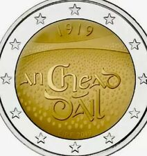 Ireland Coin 2€ Euro 2019 Commemorative 100y Years Eireann New UNC from Roll