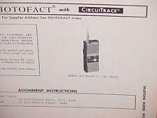 1973 TRUETONE CB RADIO SERVICE SHOP MANUAL MODEL MIC4920B-37 (DC4920)