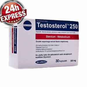 Megabol Testosterol 250 Testosteron Booster 30 caps Testo