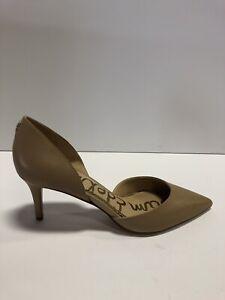 Sam Edelman Jaina Womens Pump Heel Nude Leather 8.5 M
