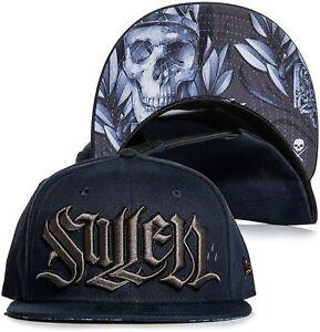 Sullen Men's New Era Silvio Snapback Hat Navy/Gray