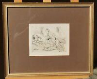 Rudolf Schlichter (1890 - 1955) - Liebesvariationen - Neue Sachlichkeit - Erotik