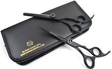 "6"" Professional Barber Hair Cutting Thinning Scissors Set Hairdressing Salon"