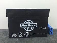 Kid Trax 12 Volt GENUINE Battery 12V 12AH With Big Blue Plug