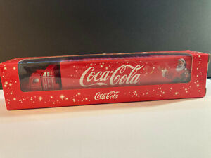 jouet miniature Coca-cola 1/87 Camion Americain de livraison tbe avec boite orig