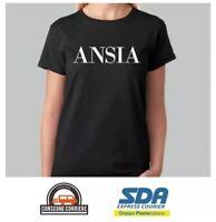 New T-Shirt Donna Fiammata Non Rompere Le Palle Idea Regalo