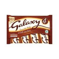 Galaxy Milk Chocolate Bar (4 x 42g) British/UK