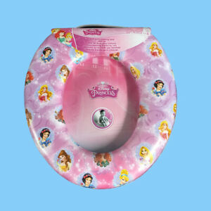 Potty Training Disney Princess 'Royal' Kids Padded Toilet Seat Soft  Gift