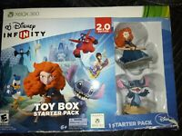 DISNEY Infinity 2.0 Edition Toy Box Starter Pack Stitch & Merida XBOX 360 NEW*