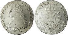 LOUIS  XVI  ,  ECU  ARGENT  1789    M  TOULOUSE