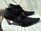 chaussures, escarpins noirs taille 40 RUYCAN