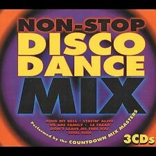 Non Stop Disco Dance Mix [1997] [Box] by Countdown Mix Masters (CD, May-1997, 3…