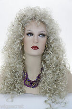 Pearl Platinum Blonde Lt. Cool Beige Blonde Blonde Long Curly Wigs